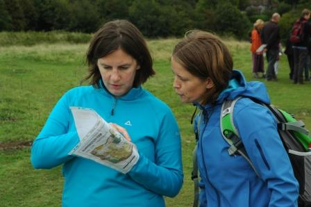 Orienteering on Burrington Ham